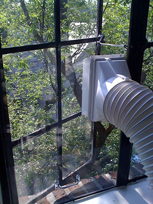 How To Install A Portable Ac In A Casement Crank Window